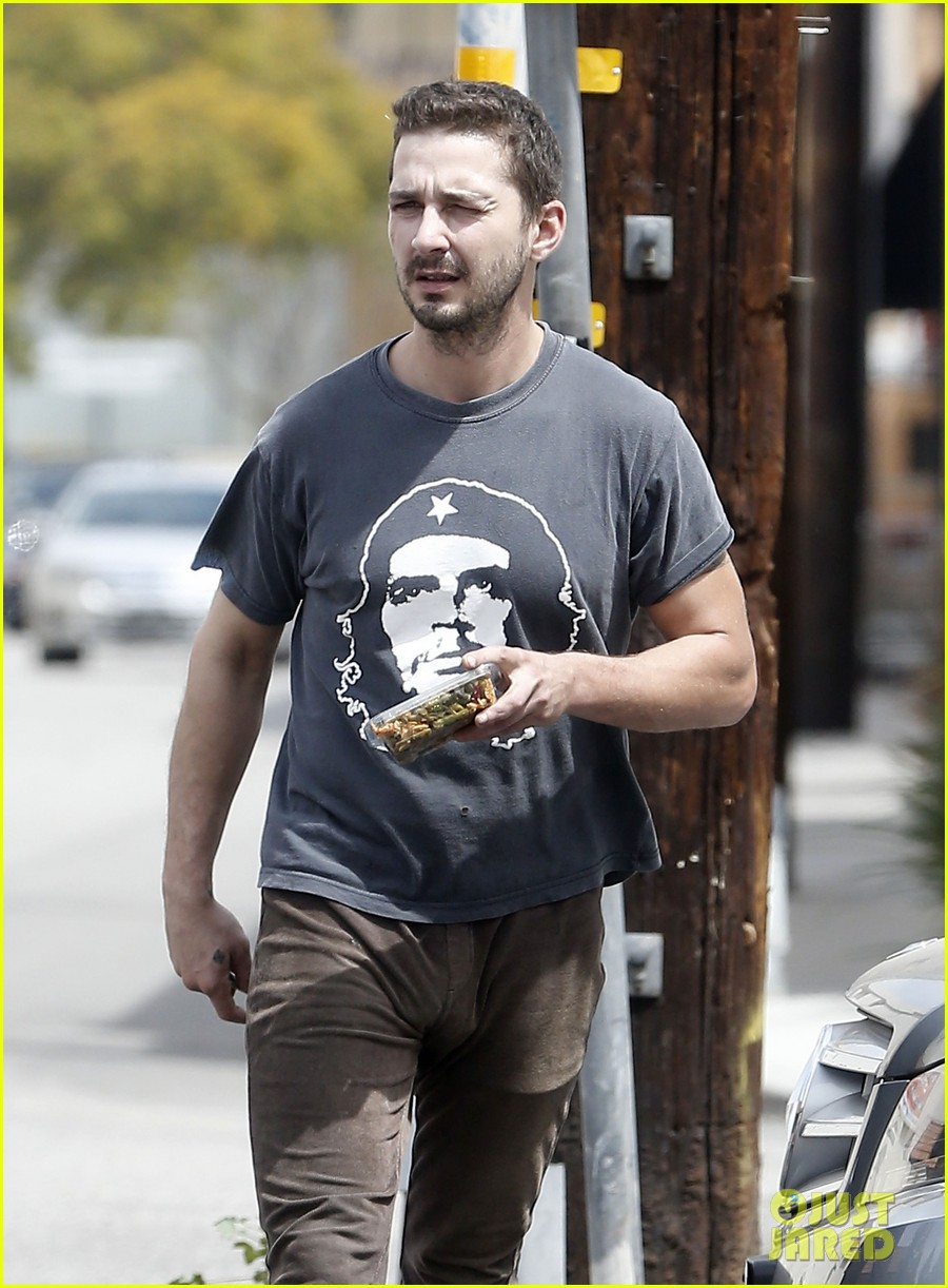 shia labeouf reportedly bought lunch for a homeless man 103094456