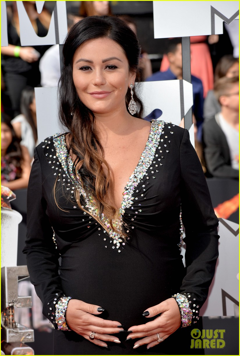 snooki jwoww pregnant pals at mtv movie awards 2014 033091059