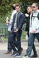 emma stone andrew garfield hold hands at disneyland 03