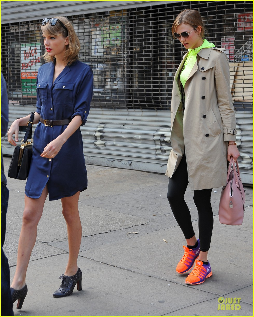 taylor swift hanging out with karlie kloss 03