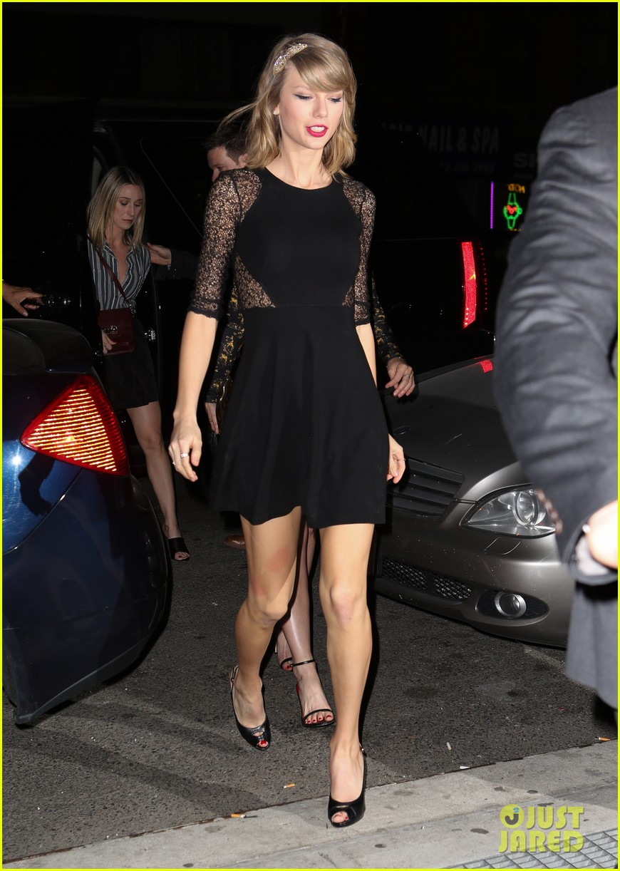 taylor swift ed sheeran saturday night live party 09