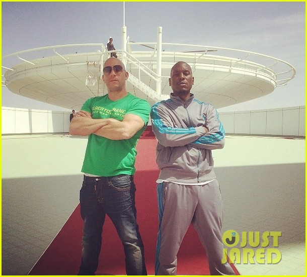 vin diesel tyrese ludacris take on dubai for fast 7 filming 05