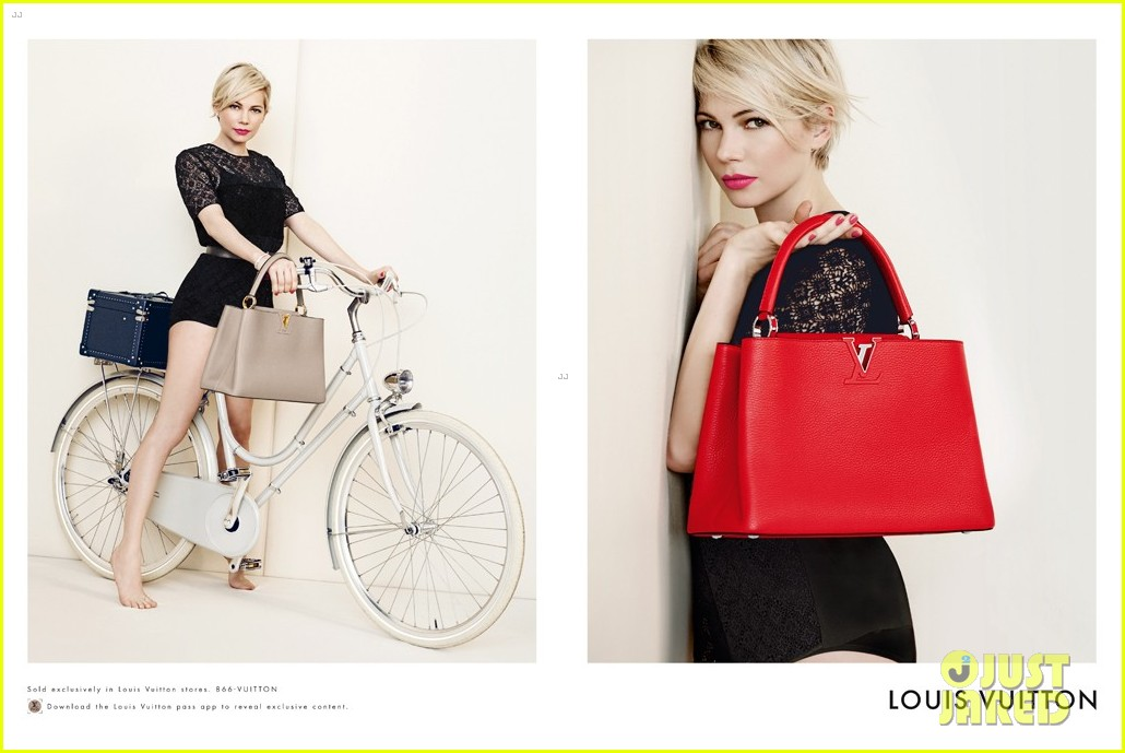 michelle williams new louis vuitton campaign 01