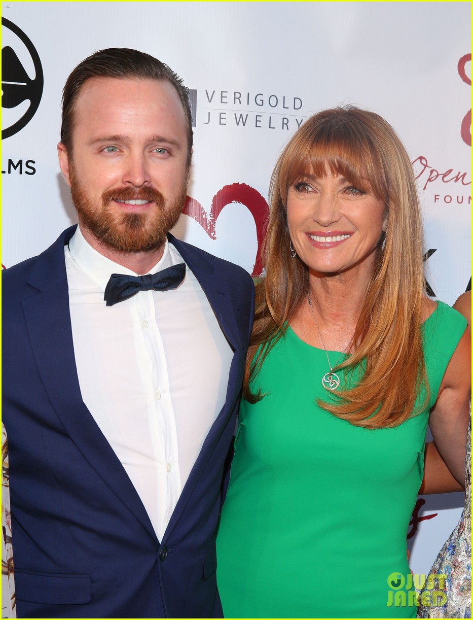 aaron paul wife lauren parksekian open your hearts gala 063110942