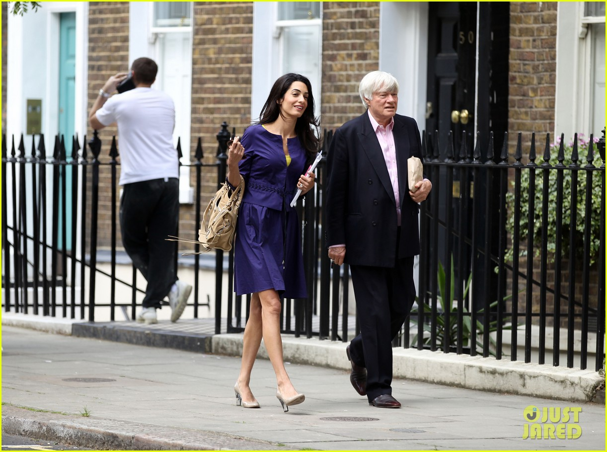 george clooneys fiancee amal alamuddin is back at work 133114482