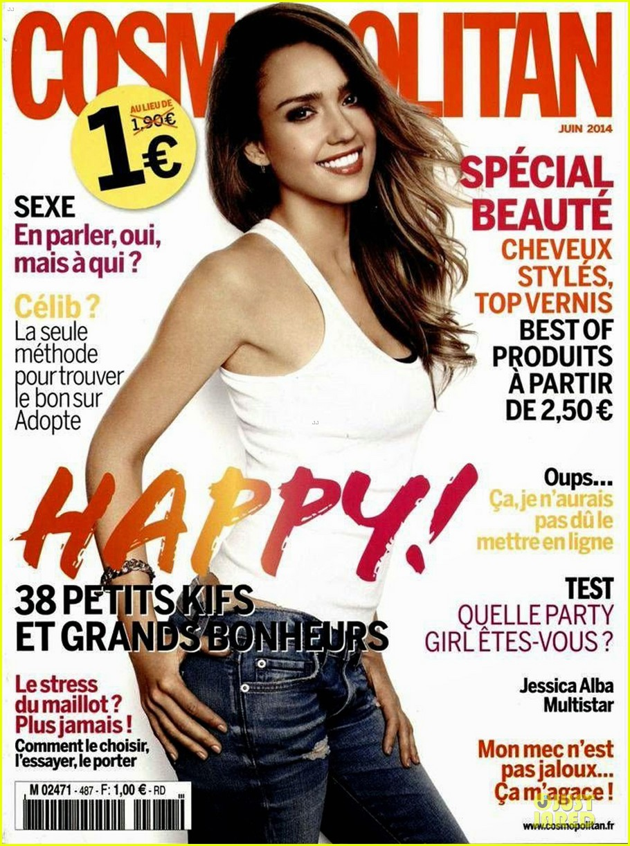 jessica alba cosmopolitan france june cover 04