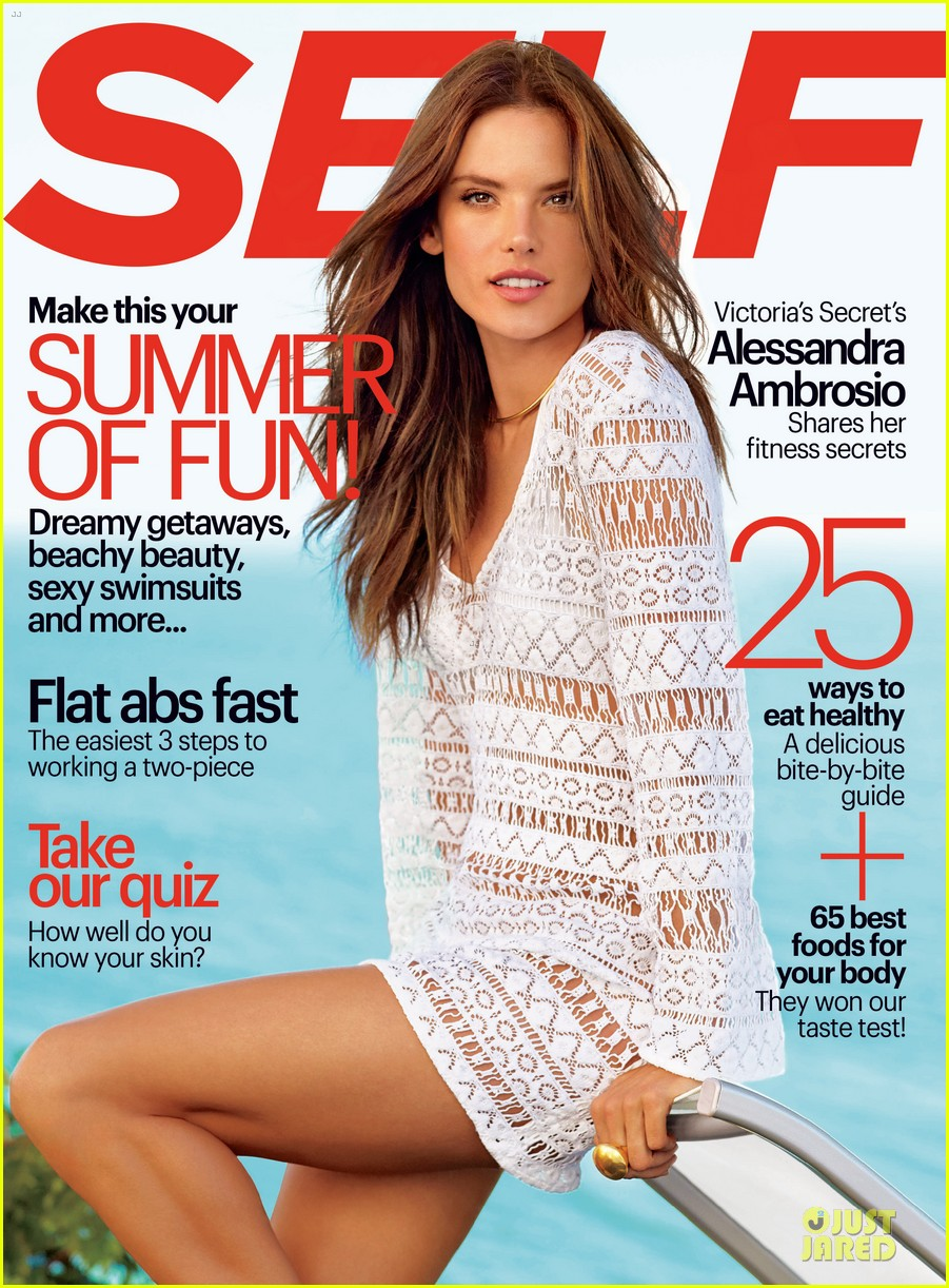 alessandra ambrosio covers self magazine june 2014 013118260