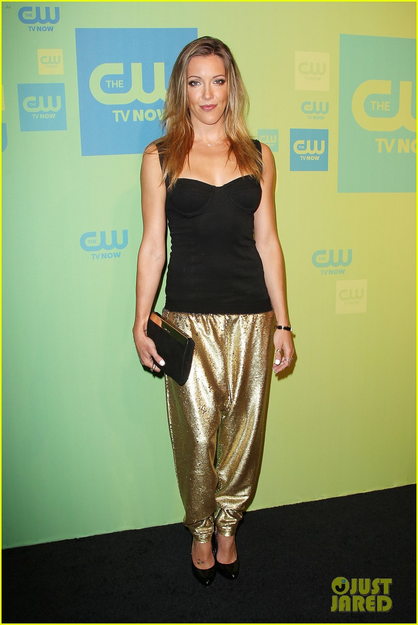 stephen amell katie cassidy arrow cw upfronts 2014 113114263