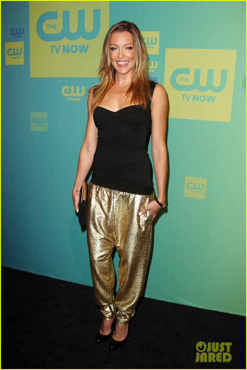 stephen amell katie cassidy arrow cw upfronts 2014 16