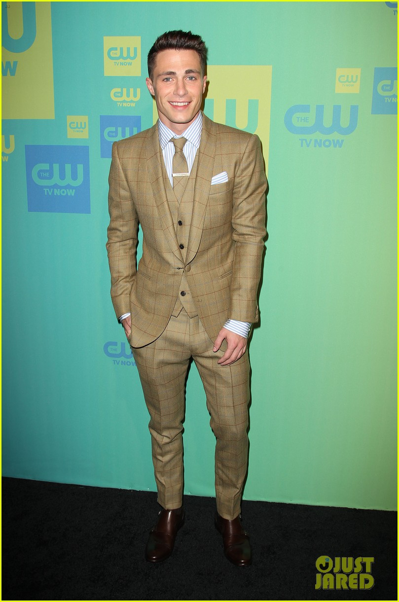 stephen amell katie cassidy arrow cw upfronts 2014 22