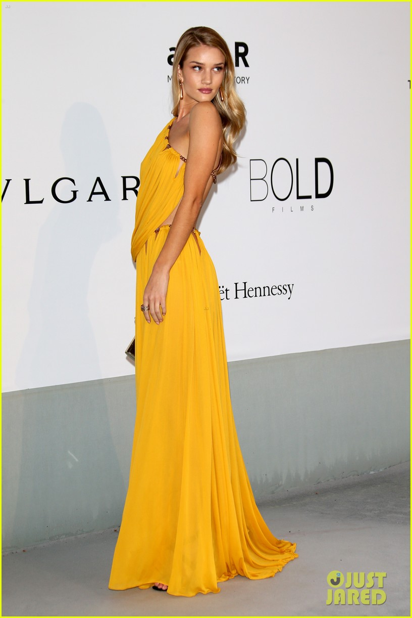 bar refaeli rosie huntington whiteley amfar gala 2014 033119958