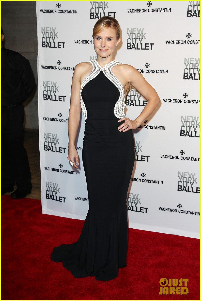 kristen bell is belle of the new york city ballet spring gala 2014 133109281