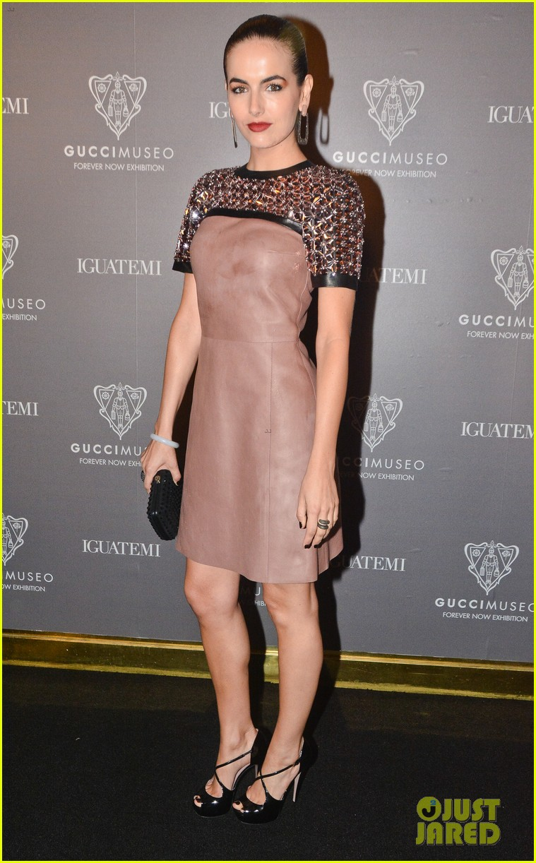 camilla belle gucci museo forever now exhibit 013123824