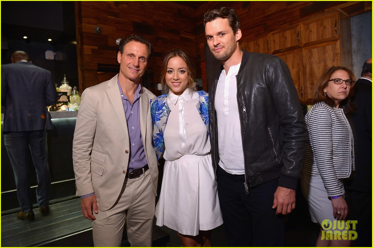 chloe bennet austin nichols make first red carpet appearance 073113812