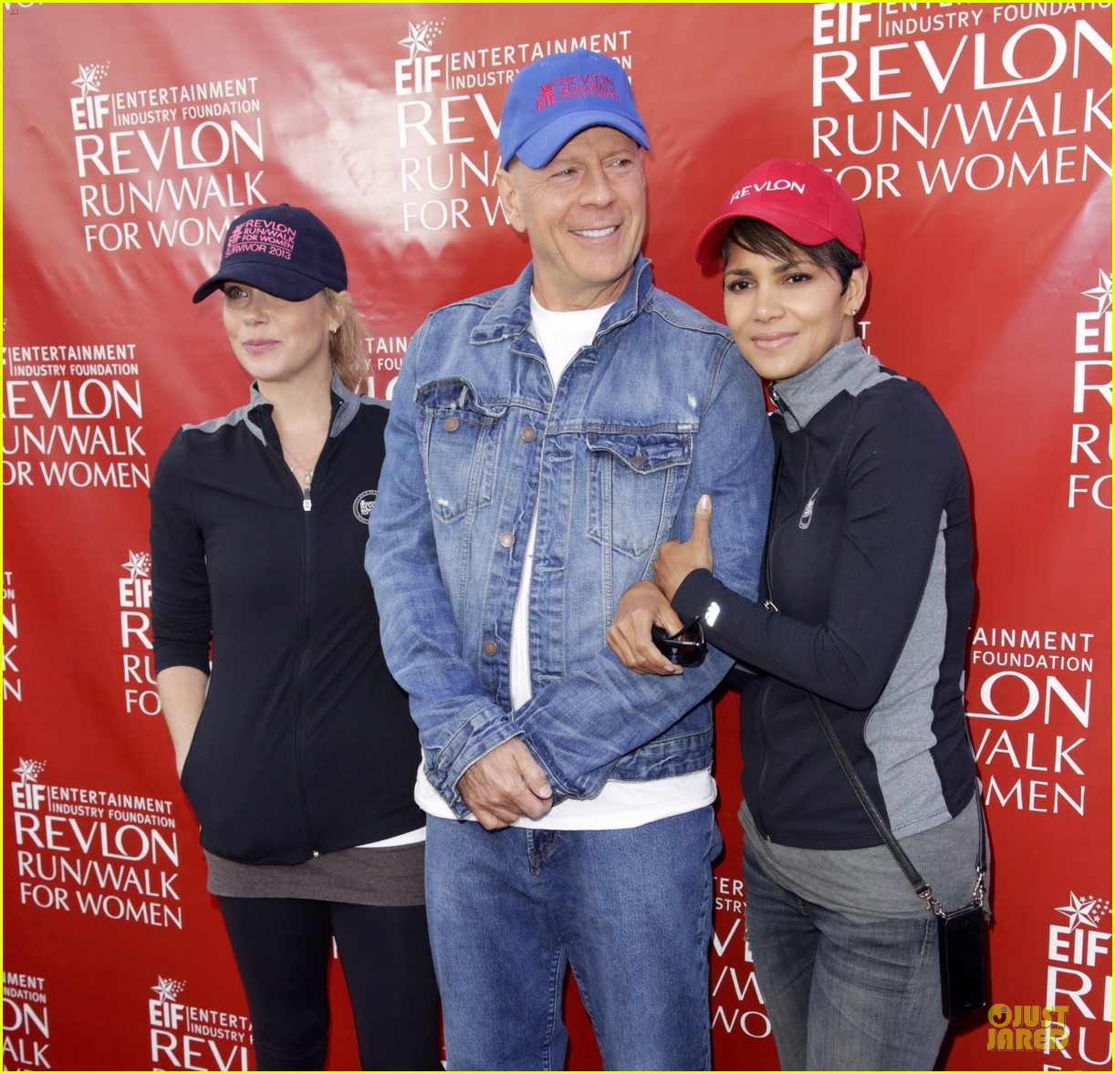 halle berry bruce willis wif revlon run 13