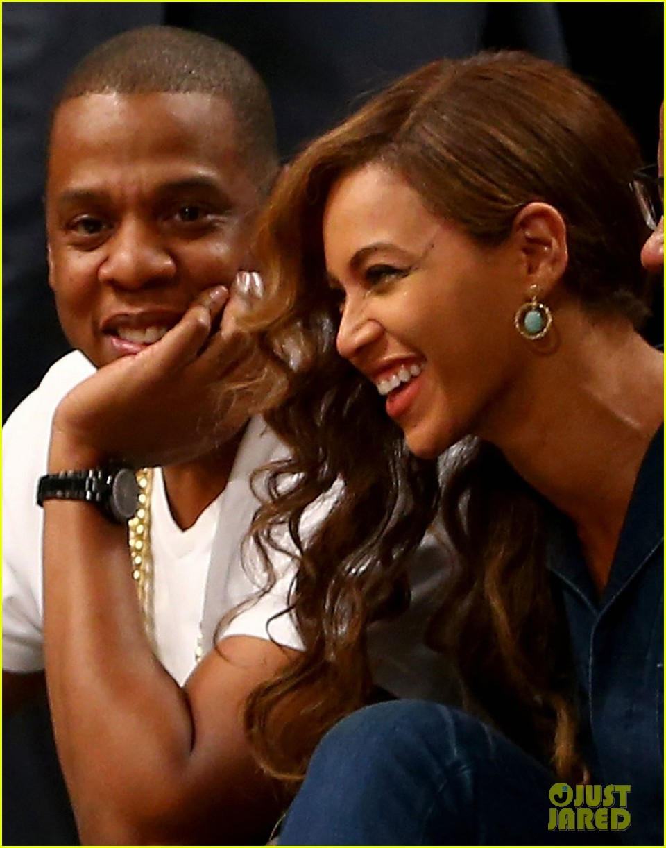 beyonce jay z nets game after solange fight leaks 05