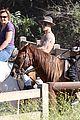 justin bieber shirtless horseback ride 11