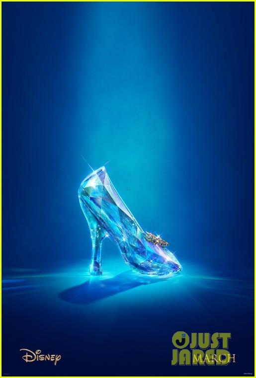 cate blanchetts live action cinderella gets first teaser poster 01