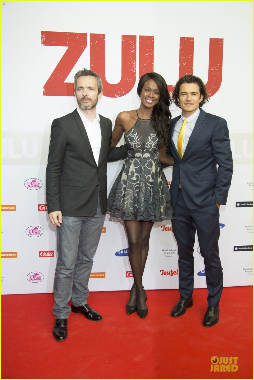 orlando bloom yellow tie zulu germany premiere 053106629