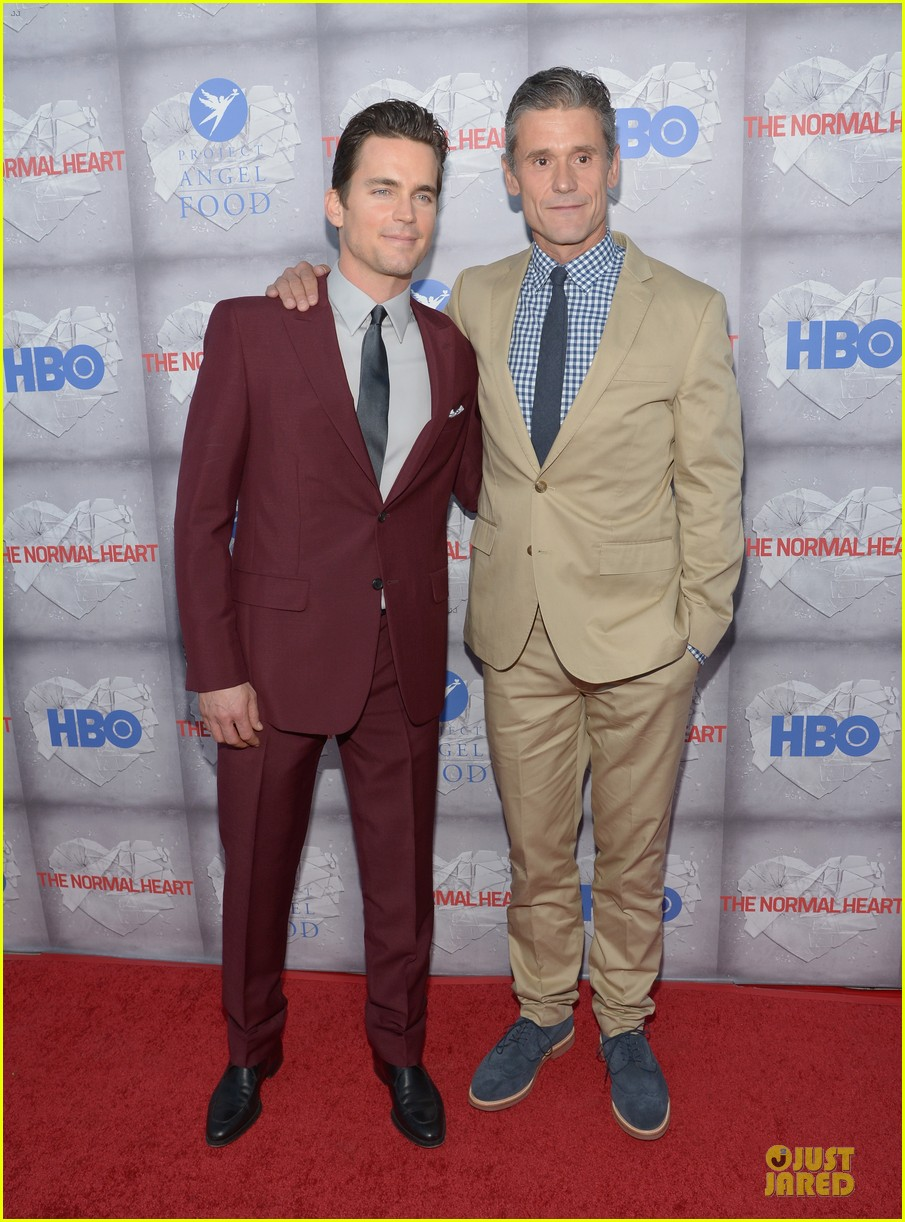matt bomer maroon suit normal heart la premiere 033117903