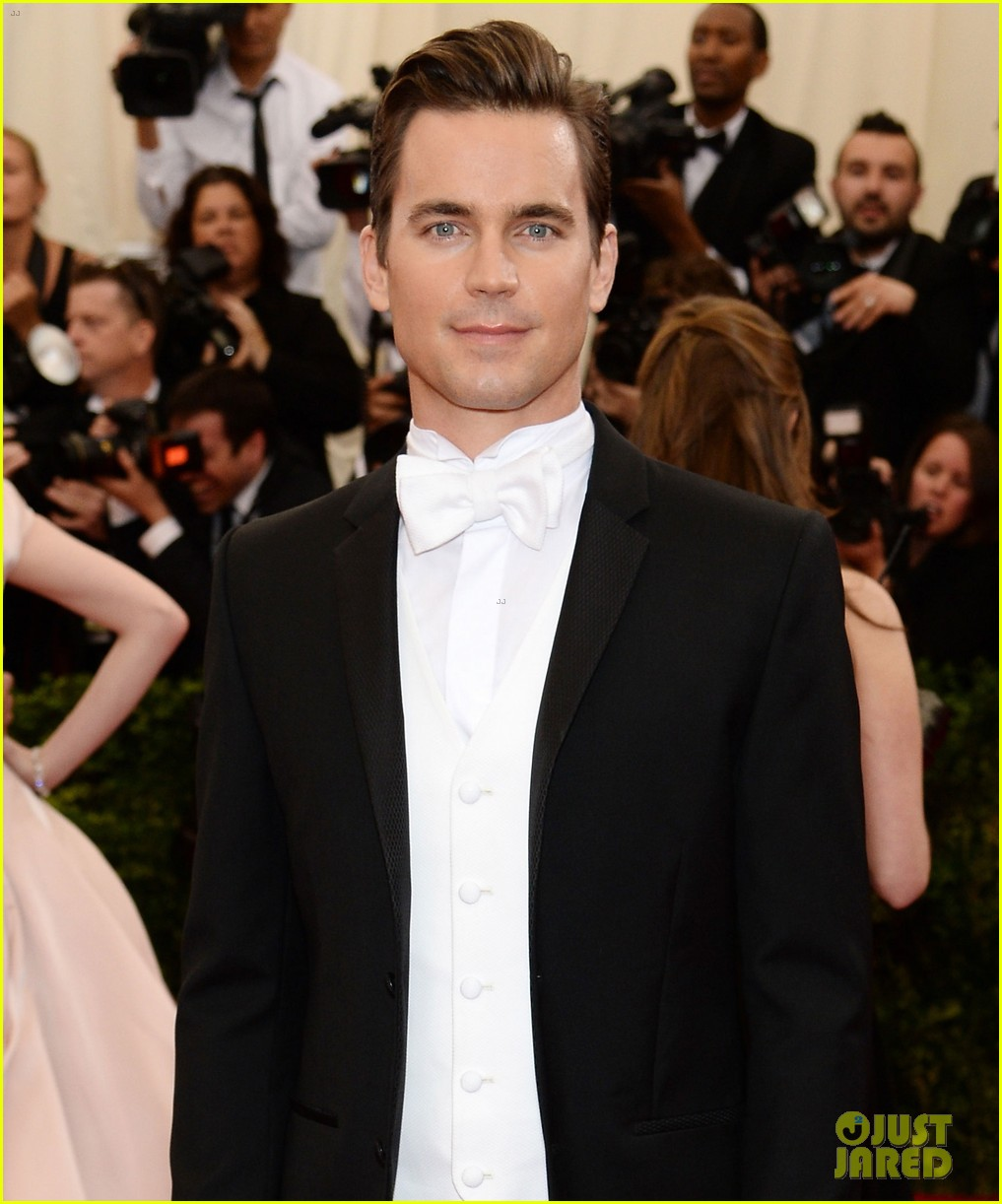 matt bomer met ball 2014 053106450