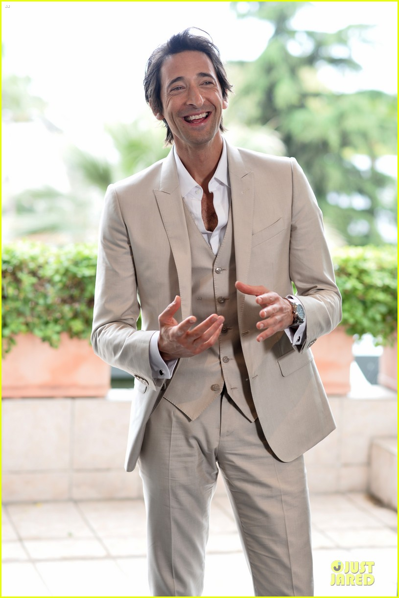 adrien brody chest hair at cannes 063117679