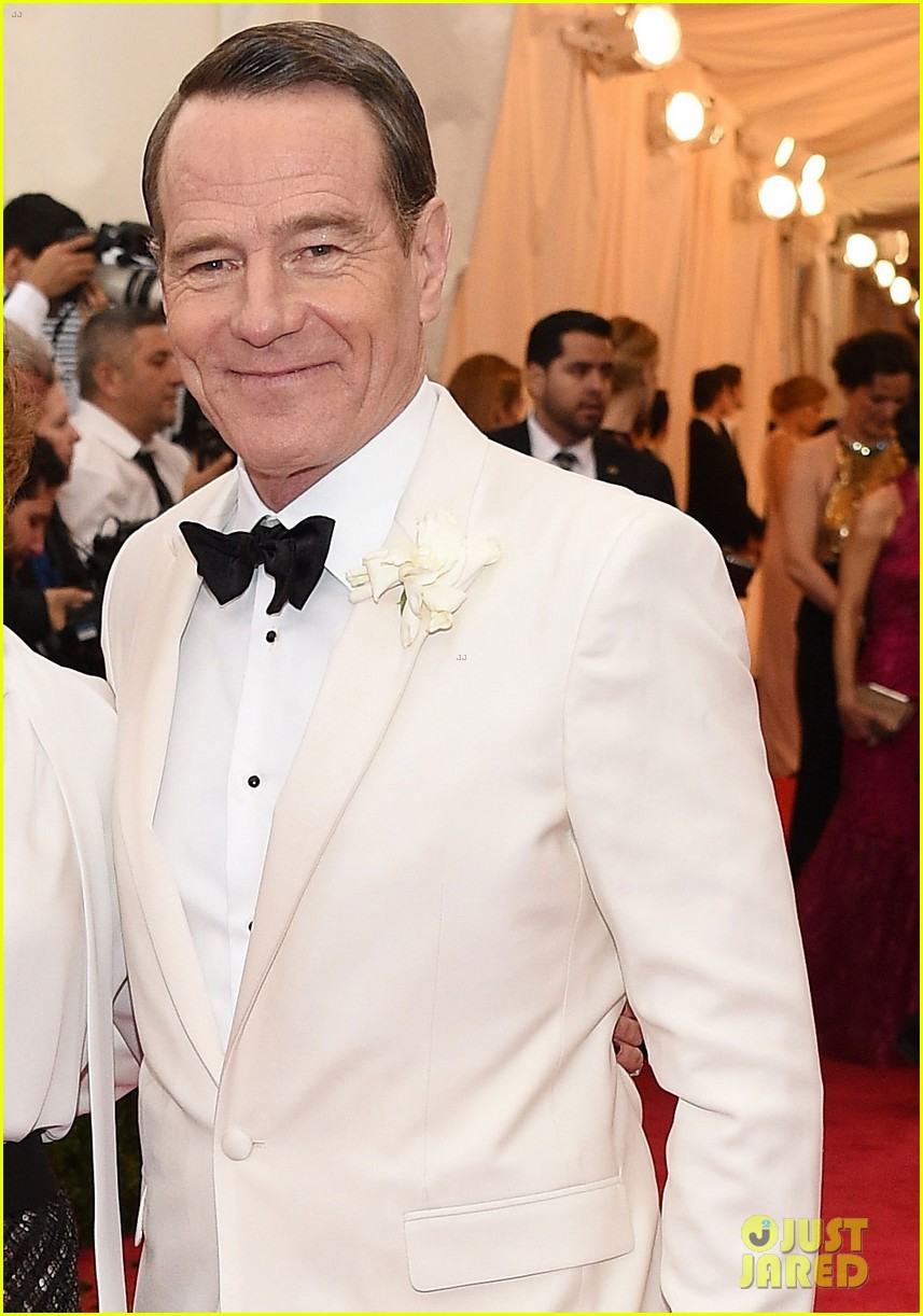bryan cranston met ball 2014 red carpet 033106542