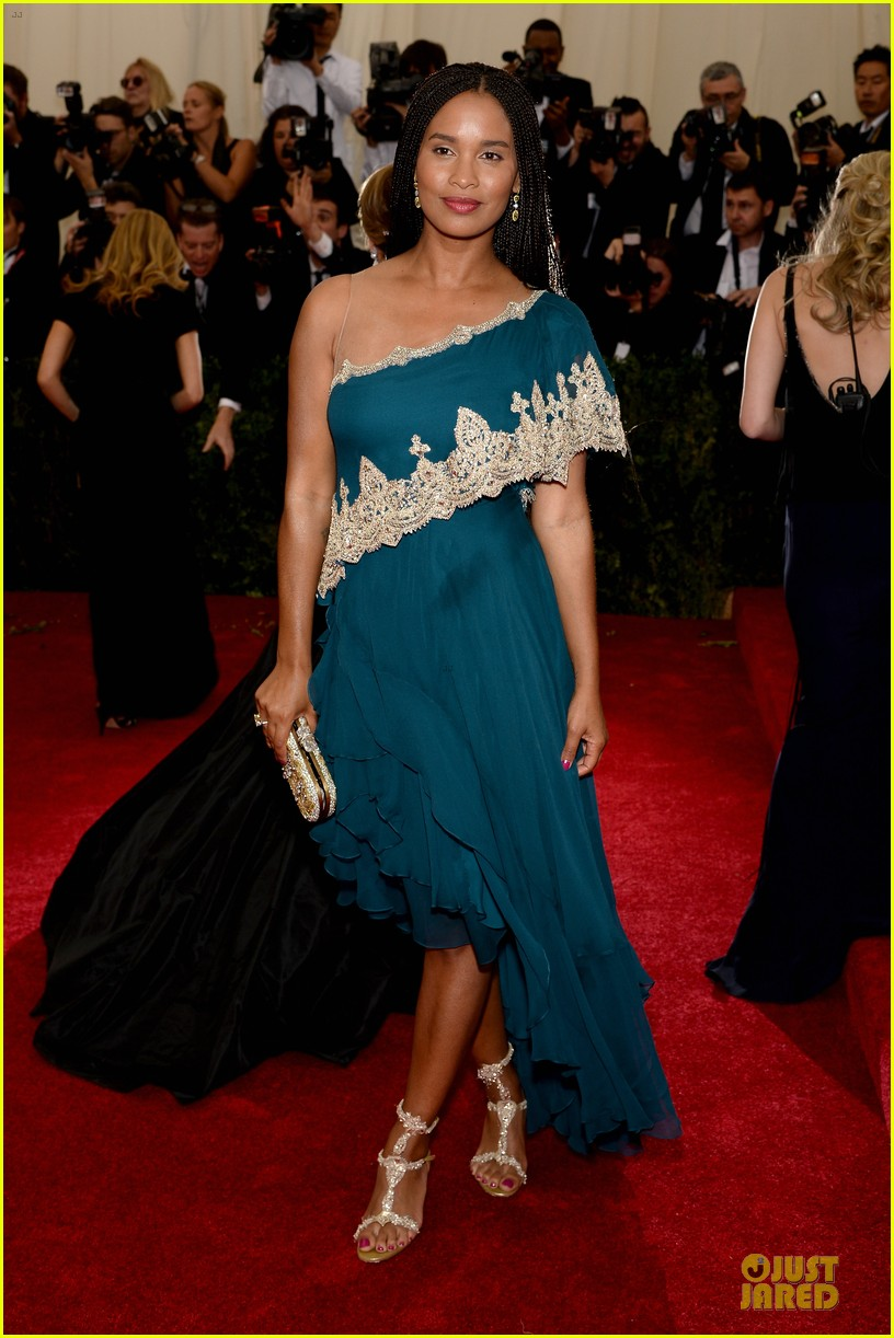 joy bryant shoulder at met ball 2014 05