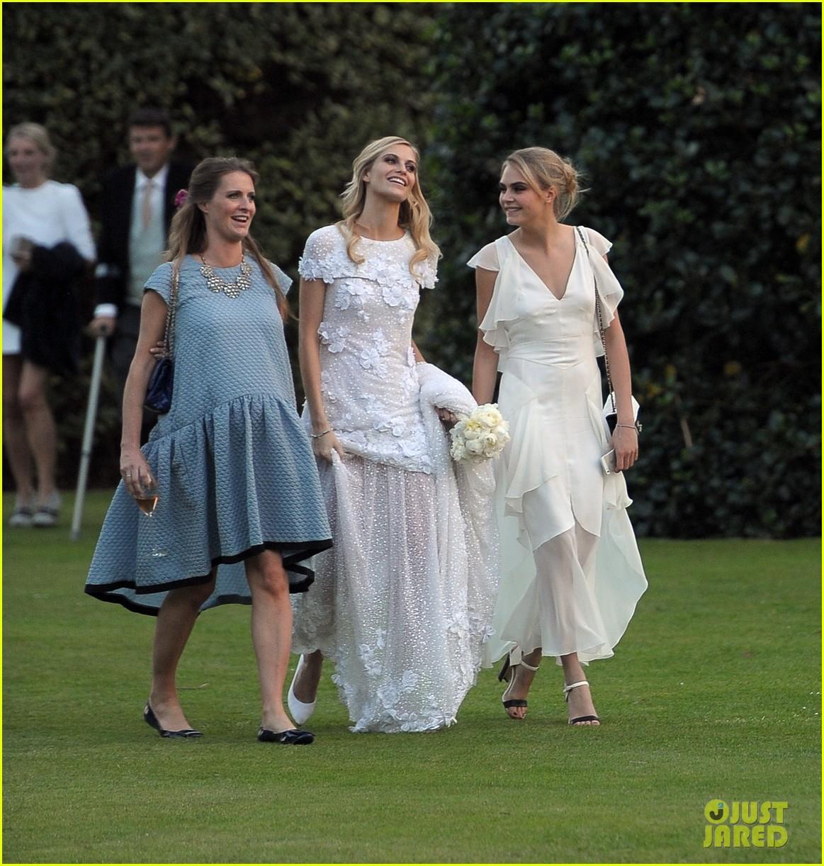 cara delevingne sister poppys wedding 22