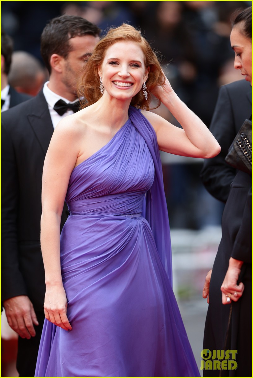 jessica chastain foxcatcher cannes premiere 09
