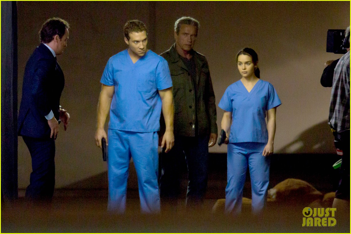 emilia clarke super fierce on terminator genesis set 14
