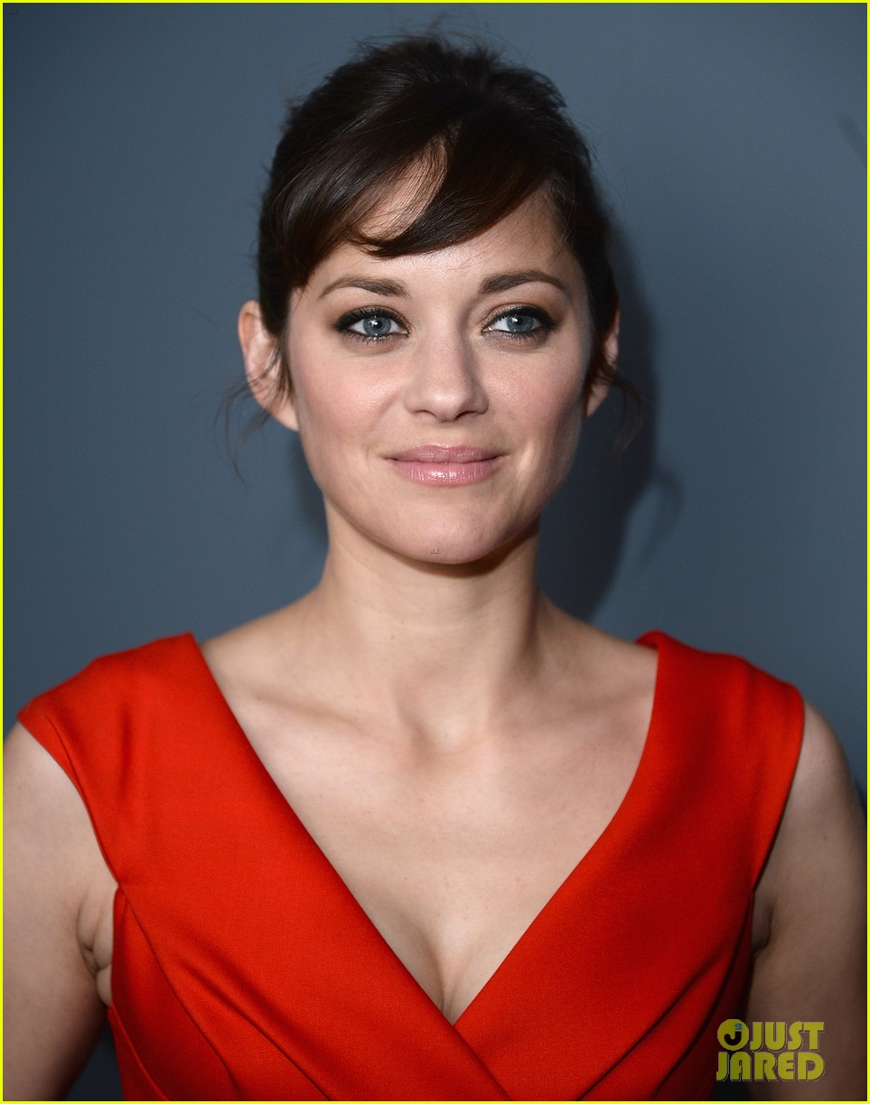 marion cotillard switches into bright mini dress for the immigrant after party 043107286