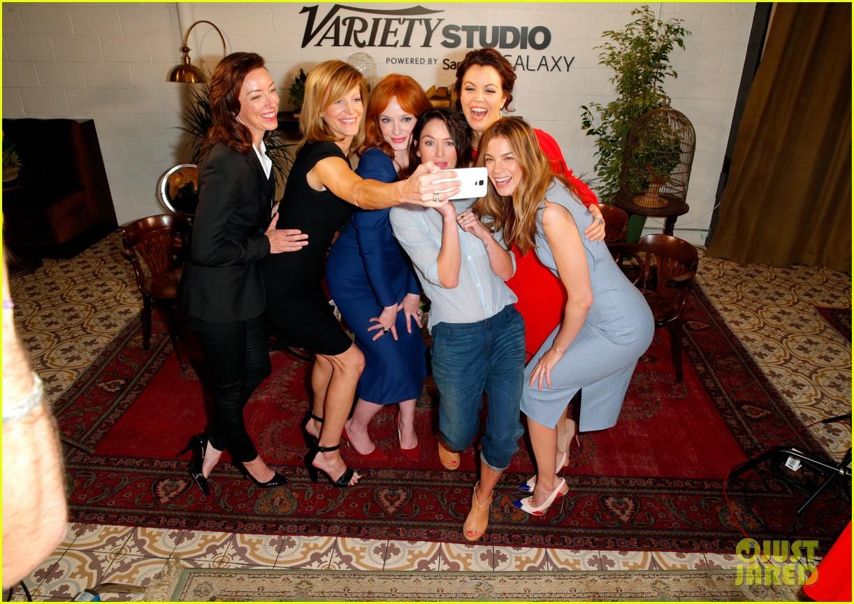 tv drama actresses take silly selfie variety studio 03