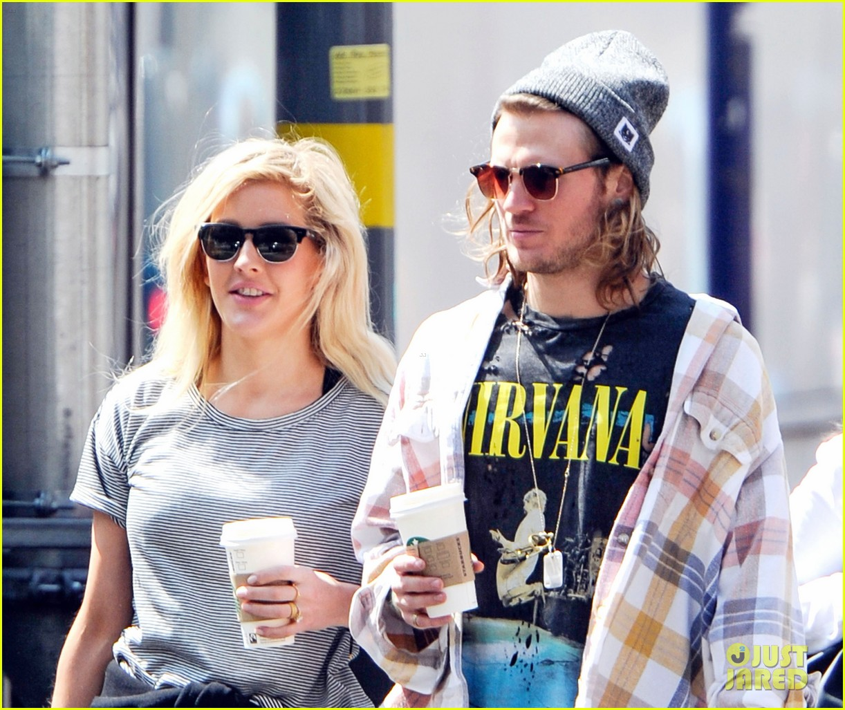 ellie goulding dougie poynter hands food 10