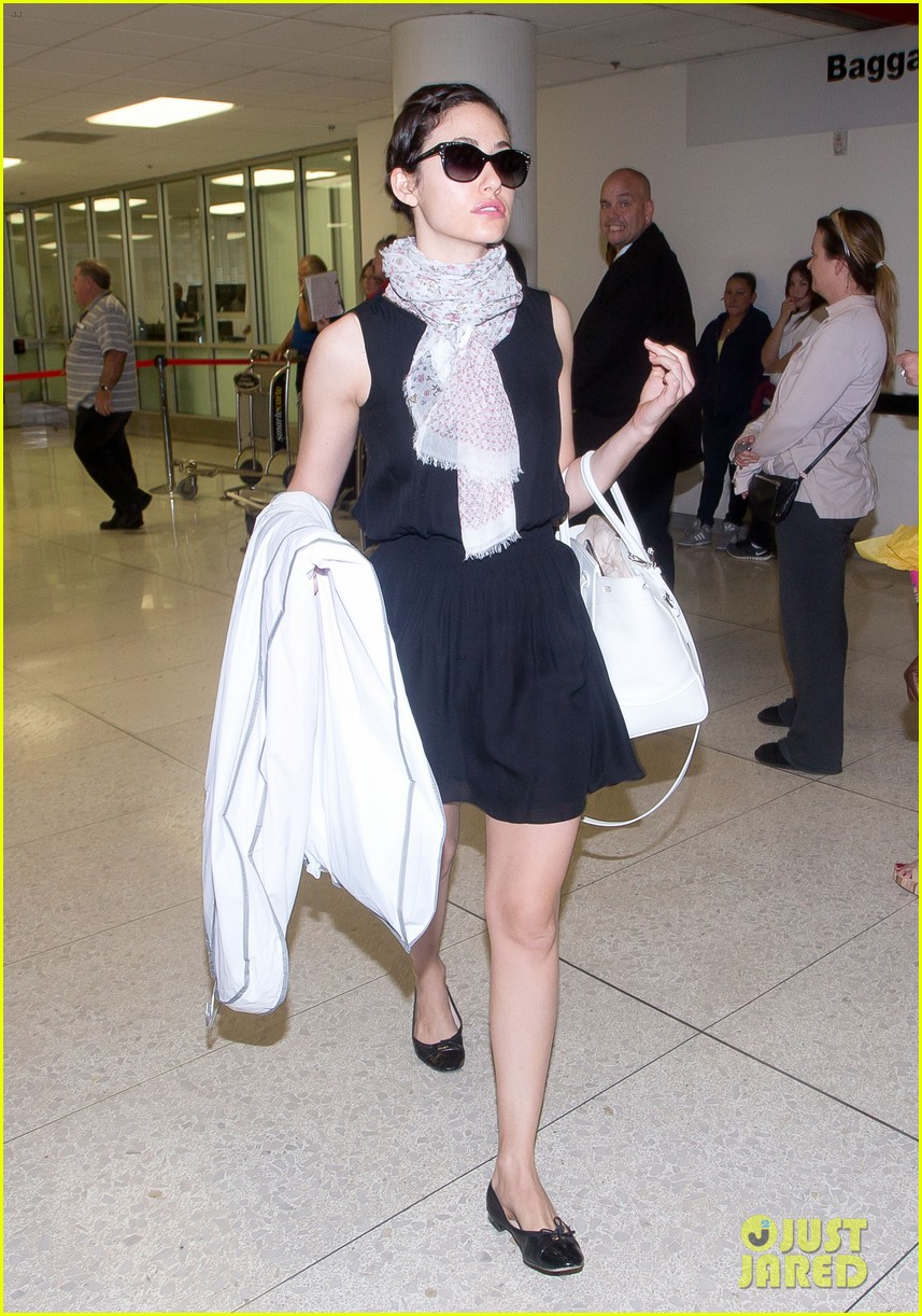 emmy rossum back to la after missing flight 033119995