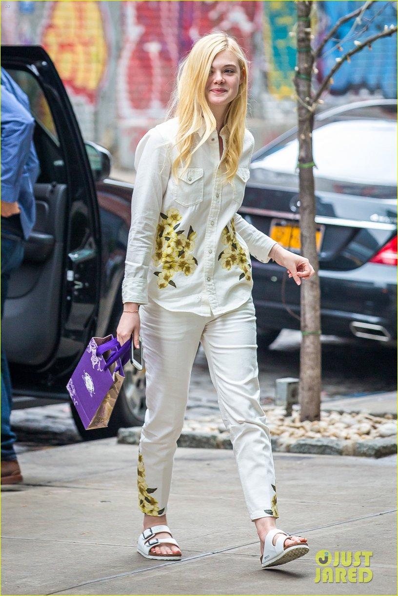 elle fanning soho eat 100 years 09