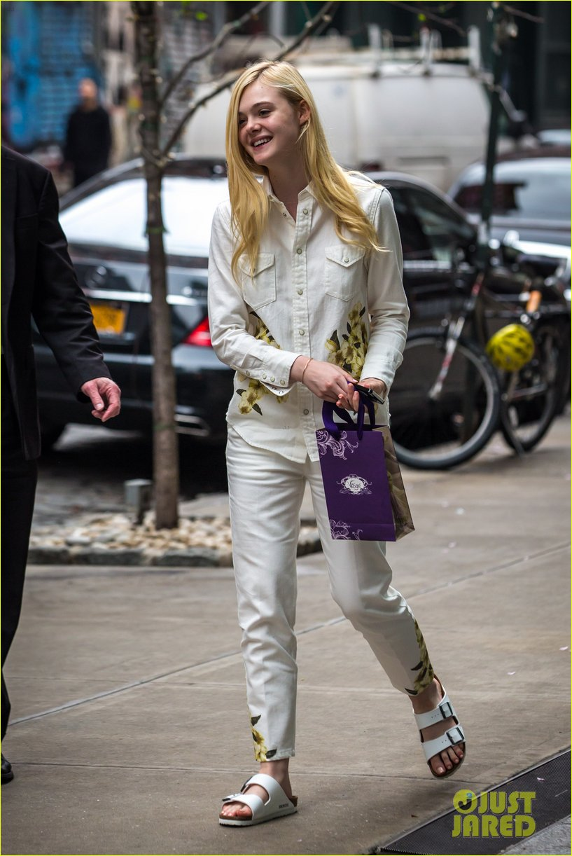 elle fanning soho eat 100 years 15