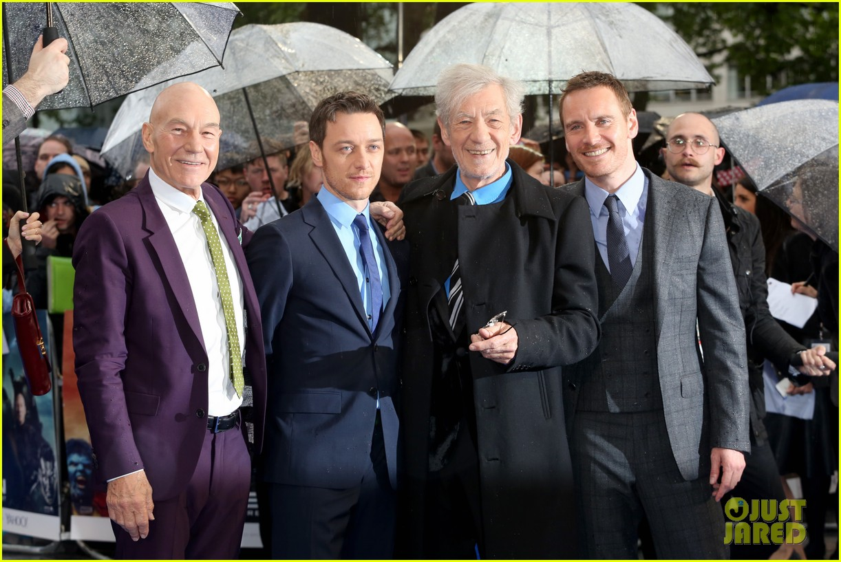 michael fassbender james mcavoy x men london premiere 083111694