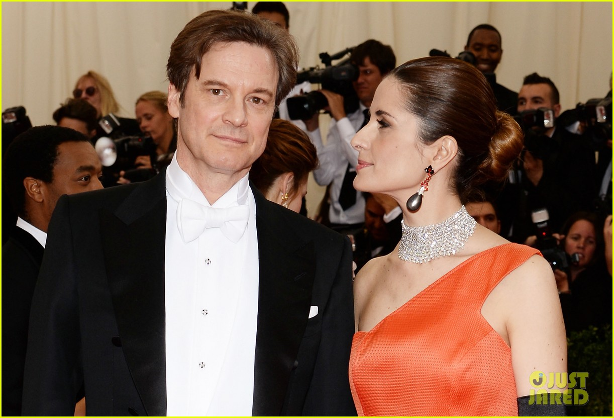 colin firths wife livia stares lovingly at her husband at met ball 2014 04