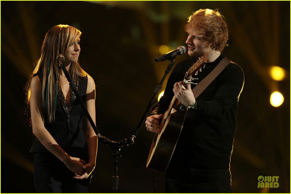 christina grimmie ed sheeran perform all of the stars voice 04
