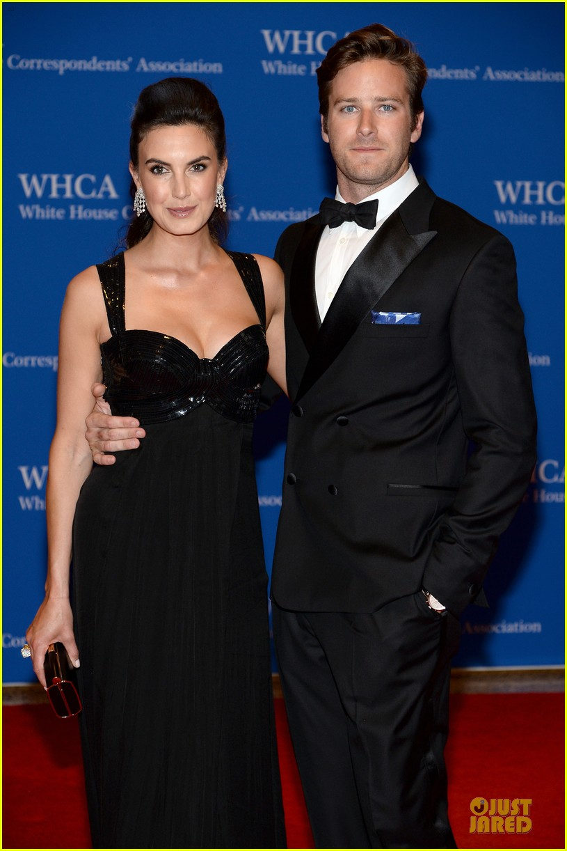 armie hammer white house correspondents dinner 2014 02