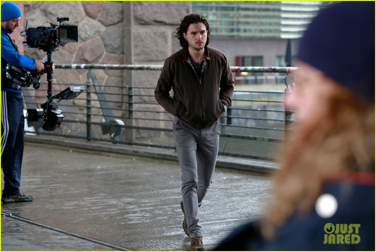 kit harington gets the major chills on spooks the greater good set 053123305