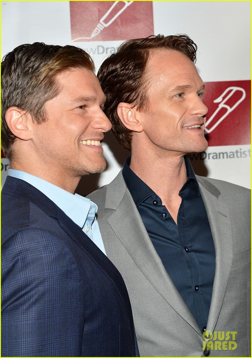 neil patrick harris david burtka suit up for new dramatists spring luncheon 2014 10