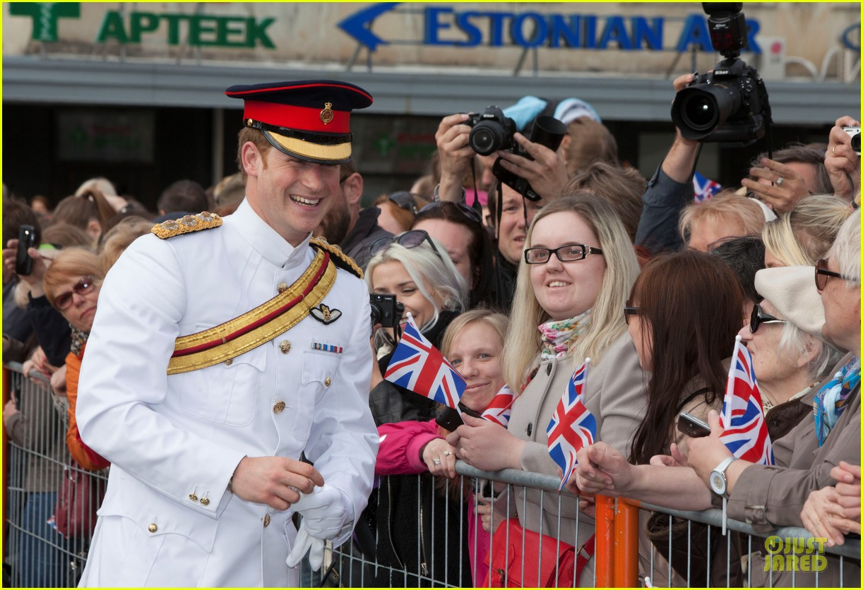 prince harry charm us on two day estonia visit 063115713