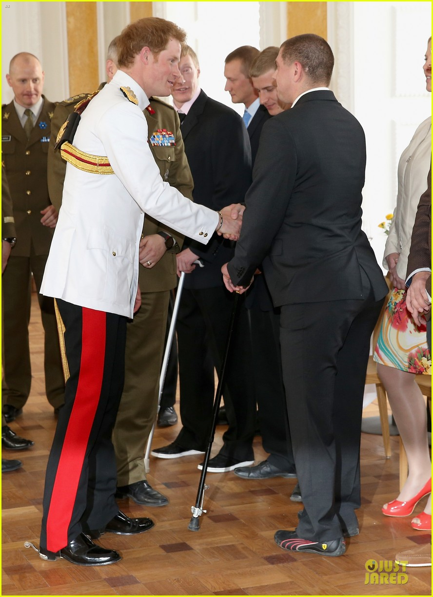 prince harry charm us on two day estonia visit 083115715