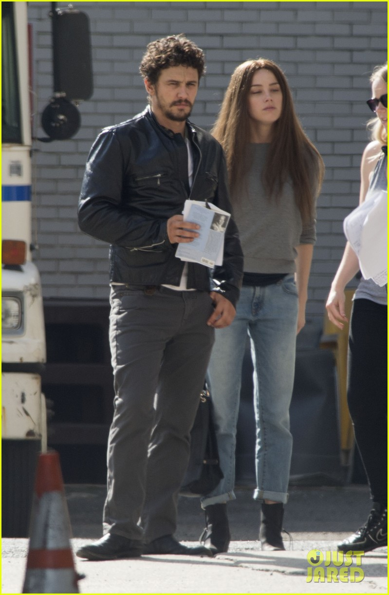 amber heard james franco get to work new york 03
