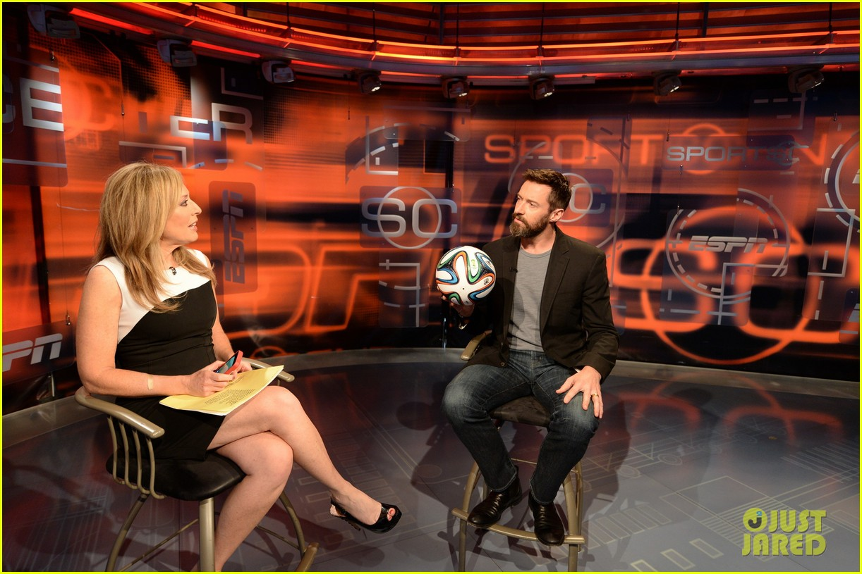 hugh jackman calls out wwes john cena on sportscenter 083118722