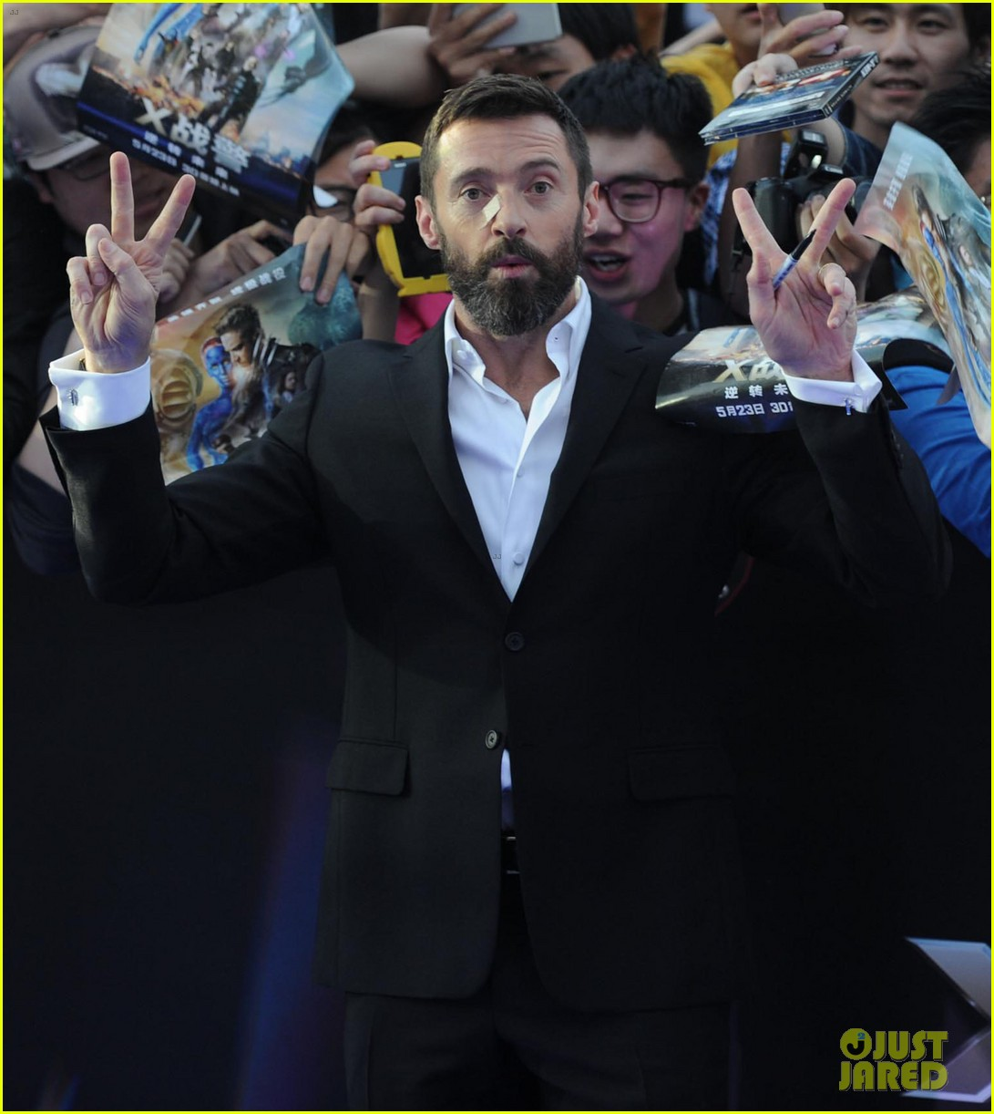 hugh jackman premieres x men with fan bingbing peter dinklage in beijing 15