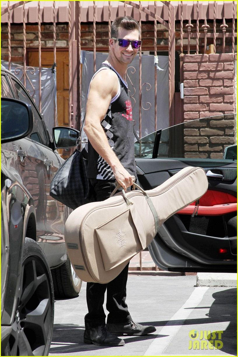 james maslow washboard abs fitness rx cover 013113443
