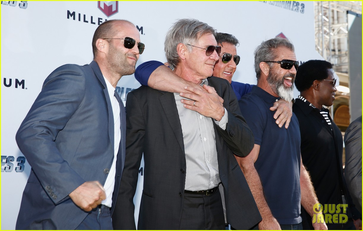 jason statham star studded expendables 3 photo call 393116559